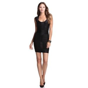 FRENCH CONNECTION Sexy Black Bandage Dress Sz 2
